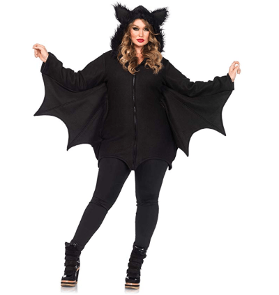 Women's Plus Size Bat Costume