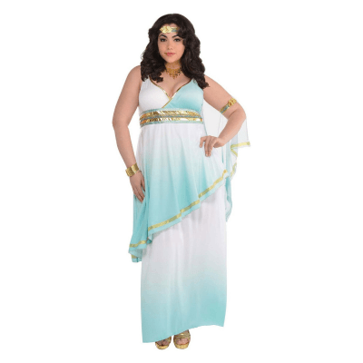 Plus Size Greecian Goddess Costume